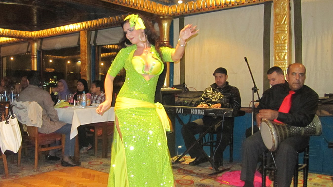 Belly dance in Luxor