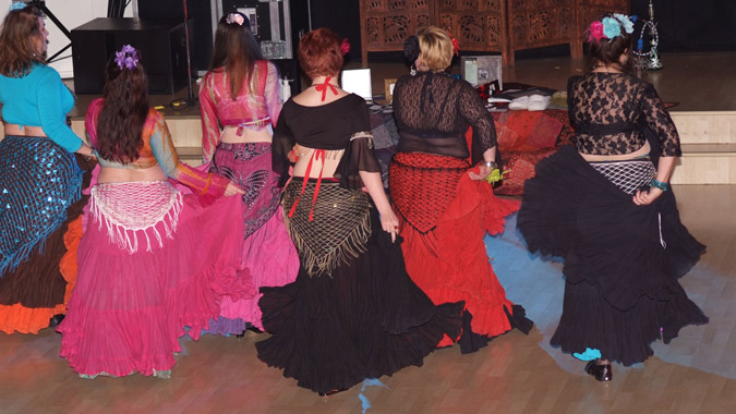 American Tribal belly dance