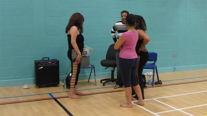 using a sports hall to teach