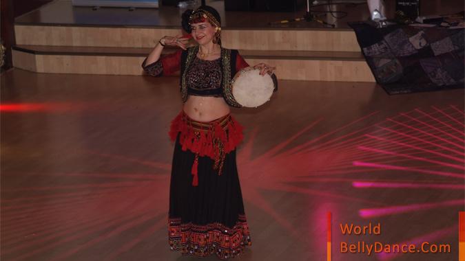 Soloist dancer af a hafla