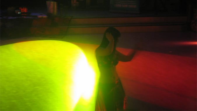 Dance floor show