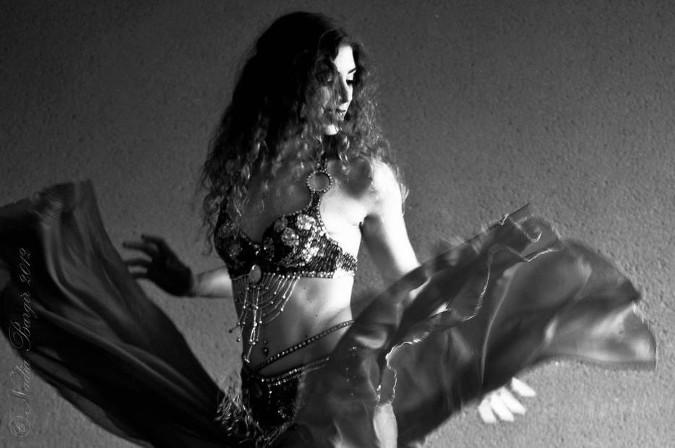 Sandy Maya belly dancer
