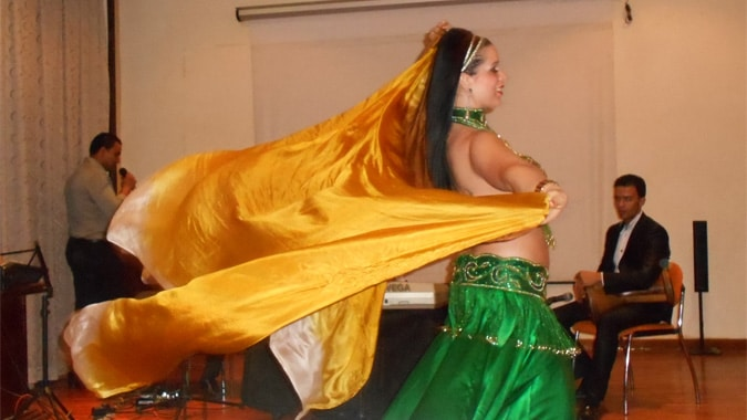 Moroccan dancer