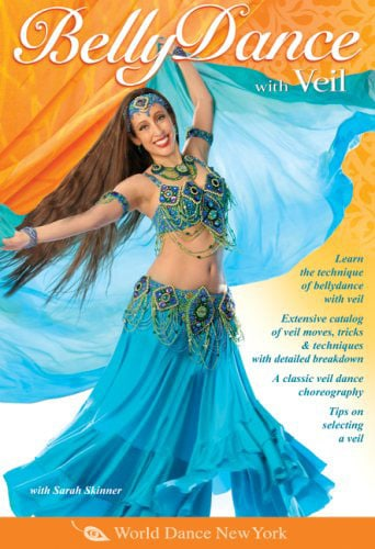 Belly-Dance-with-Veil DVD
