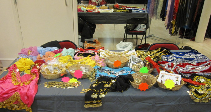 Belly Dance Items Bulk Sale in Cardiff, UK