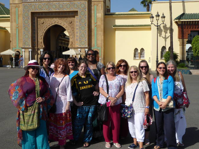 Funoon Dance Trip to Rabat in Morocco with Nawarra